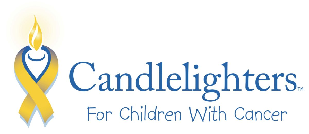 Candlelighters for children with cancer logo