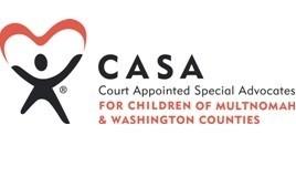 CASA of Multnomah and Washington counties logo