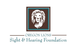 oregon lions sight and hearing logo