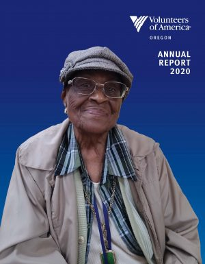 Woman smiling, VOA Oregon Annual Report 2020
