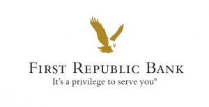 First Republic Bank logo, Its a privilege to serve you