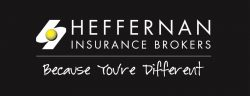 Heffernan Insurance Brokers logo, Because you are different