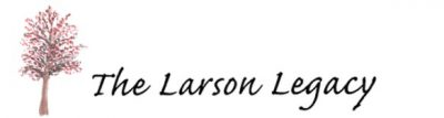 The Larson Legacy logo with colorful tree graphic