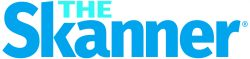 The Scanner logo, in blue text